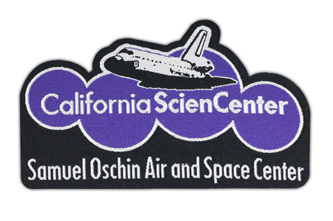 California Science Center Samuel Oschin Air and Space Center  Woven Patch