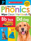 Very First Phonics Wipe-Clean Workbook