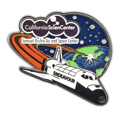 "Endeavour ""C"" Design Collectors Series Pin"