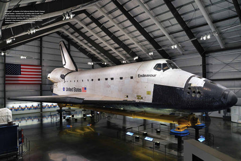 Space Shuttle Endeavour California Science Center Official