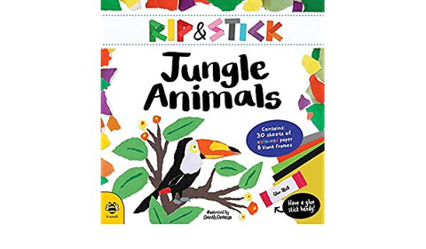 "Rip & Stick ""Jungle Animals"" Book"