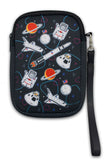 Space Wristlet with Logo