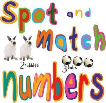 Spot and match numbers Book
