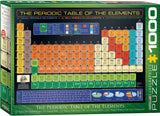 The Periodic Table of the Elements 1000 Piece Puzzle
