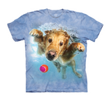 Under Water Golden Retriever Dog Shirt