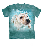 Under Water Terrier Mix Dog Shirt