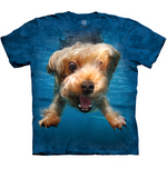 Under Water Yorkie Dog Shirt