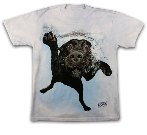 Underwater Black Labrador Dog Shirt