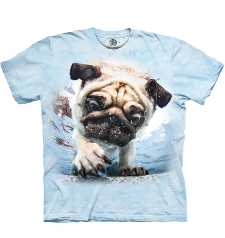 Under Water Pug Dog Shirt