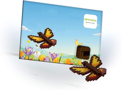 Butterfly Puzzle Postcard