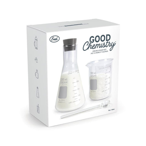 Good Chemistry Cream and Sugar Set