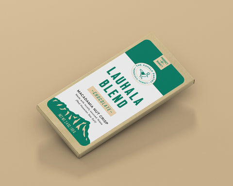 Lauhala Chocolate Macadamia Nut Crunch Bar