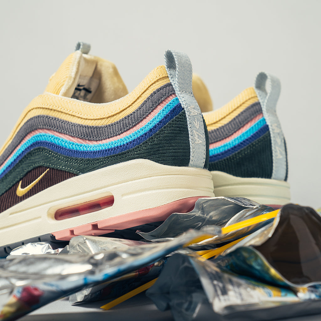 1036567249d211 The Sean Wotherspoon x Nike Air Max 1 97 VF SW will only be available via  in-store and online raffle that ends at 7 00pm