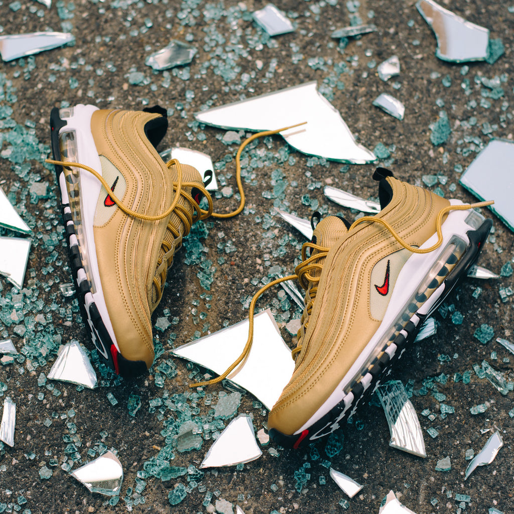 b240f225c01930 Nike is celebrating the 20th anniversary of the Air Max  97 by releasing an  extremely limited runs of the celebrated OG silhouette that was inspired by  ...
