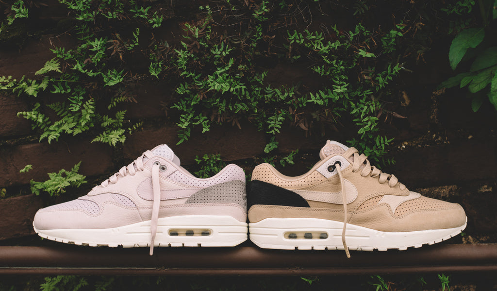 42f150b4 The first shoe to introduce the world to visible air gets a high-end  premium upgrade with Nikelab's latest Air Max 1 Pinnacle release.