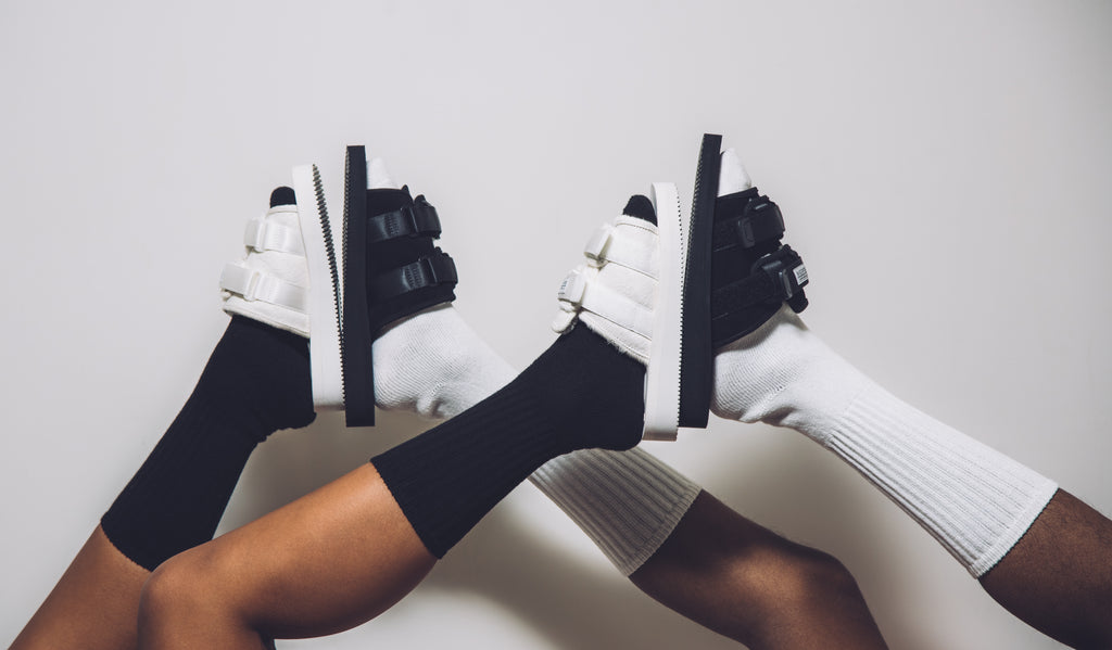 20a2c3328e7 Wearing socks with sandals is not a look that has traditionally been the  purview of the high fashion world