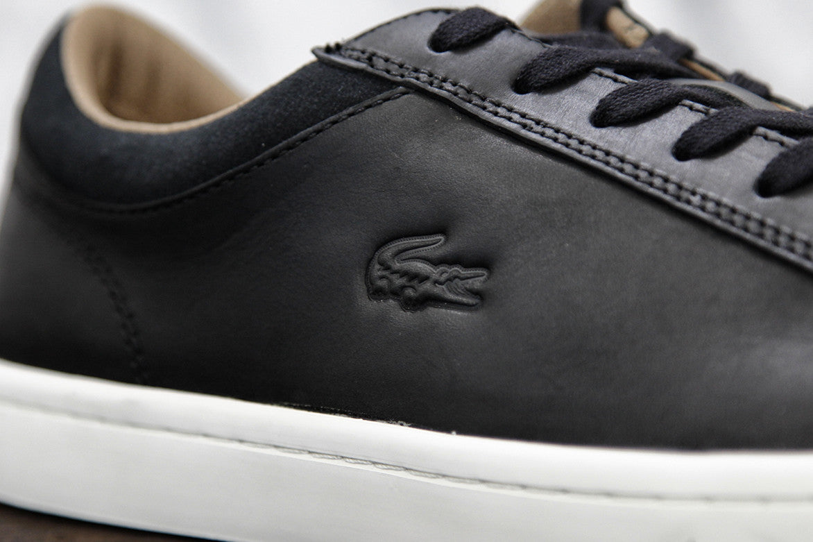 LACOSTE STRAIGHTSET CRF - BLACK