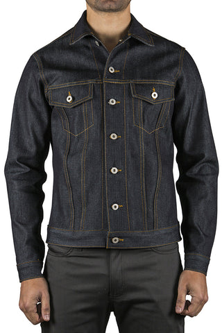 LEFT HAND TWILL SELVEDGE DENIM JACKET - INDIGO