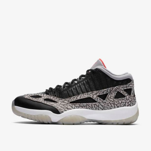 "AIR JORDAN 11 LOW I.E. ""BLACK CEMENT"""