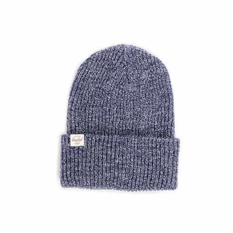 QUARTZ BEANIE CLASSIC - HEATHERED NAVY