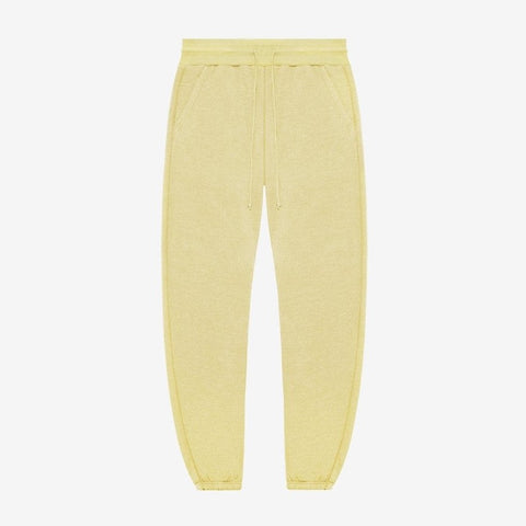 VINTAGE FLEECE SWEATPANTS - YELLOW
