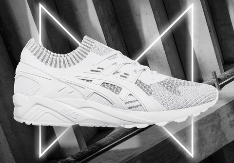 "GEL- KAYANO TRAINER KNIT ""REFLECTIVE PACK"" - SILVER / WHITE"