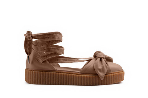 PUMA x FENTY BY RIHANNA BOW CREEPER SANDAL (WMNS)  - NATURAL