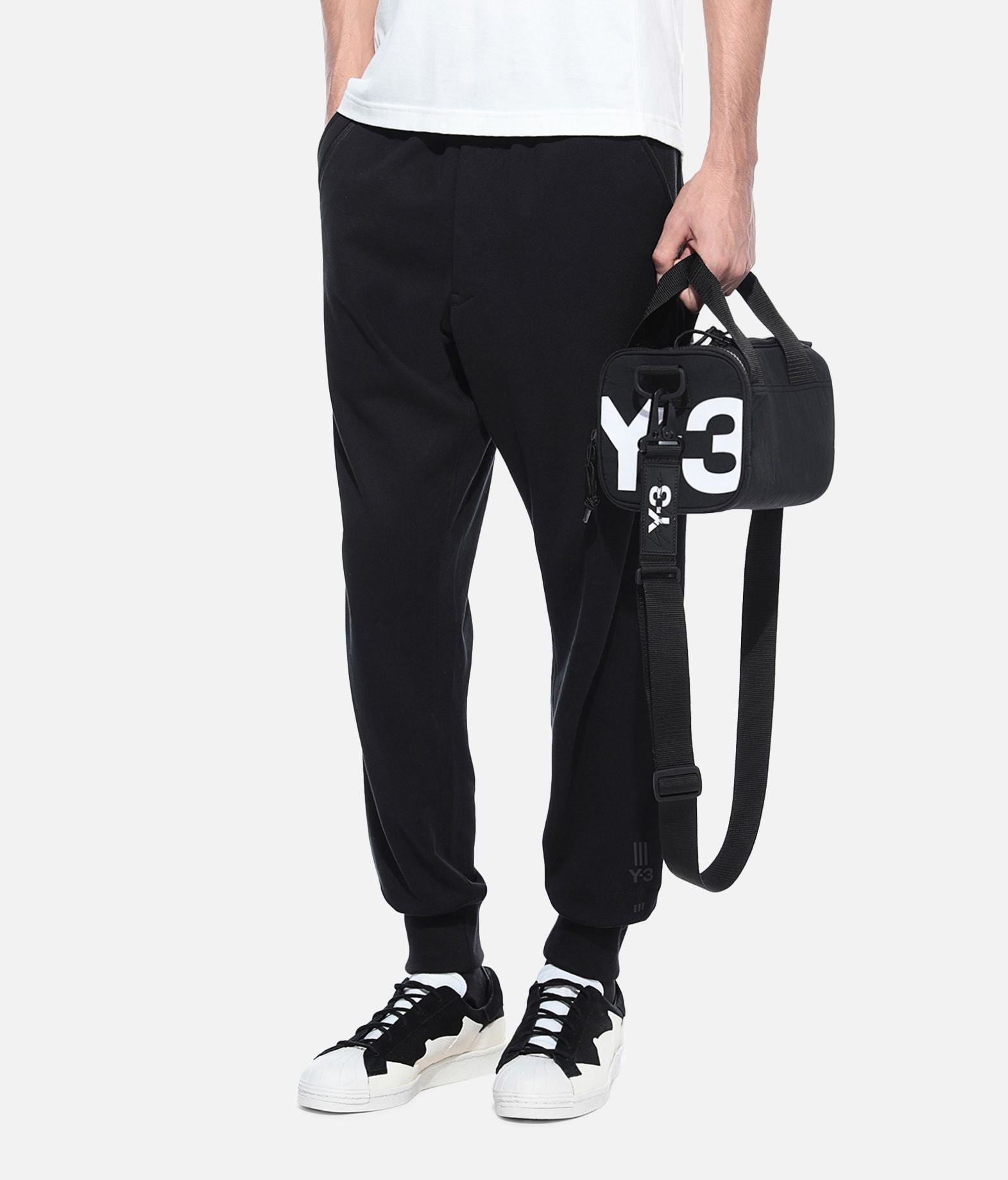 Y-3 MINI BAG - BLACK