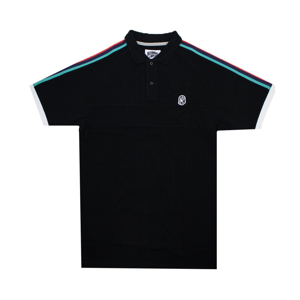 BB UNIVERSE SS POLO - BLACK