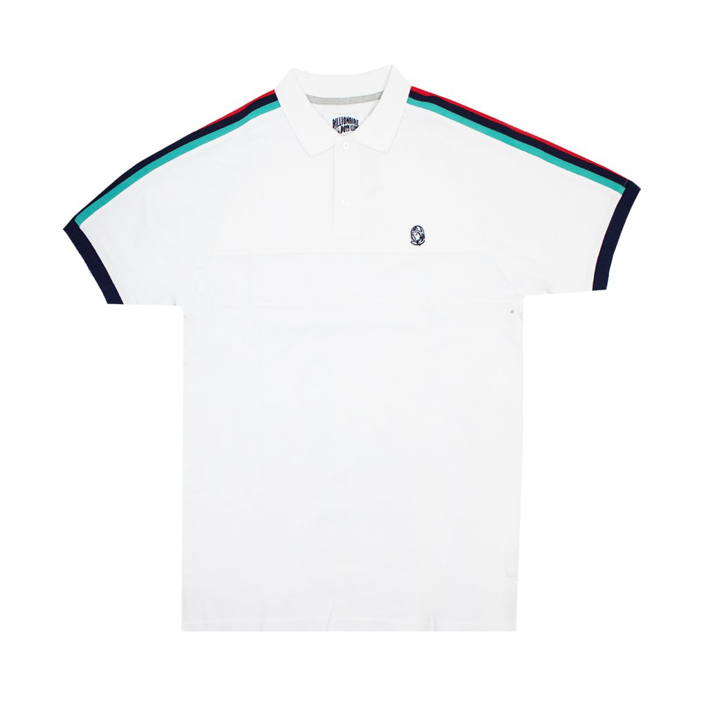 BB PS SS POLO - WHITE
