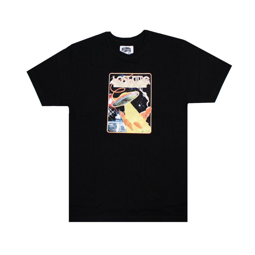 LOST IN TIME SS TEE - BLACK
