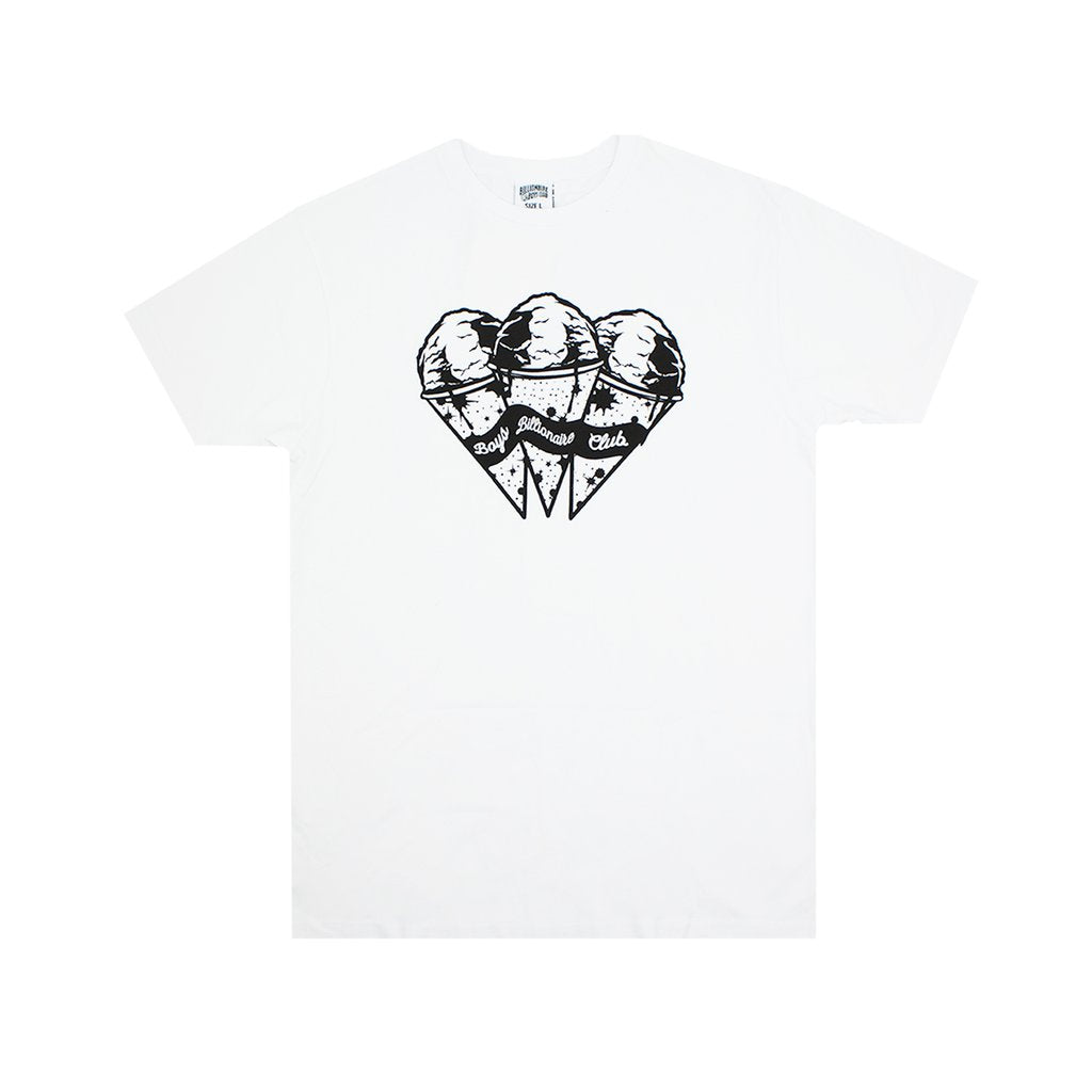 SPACE CONES SS TEE - WHITE