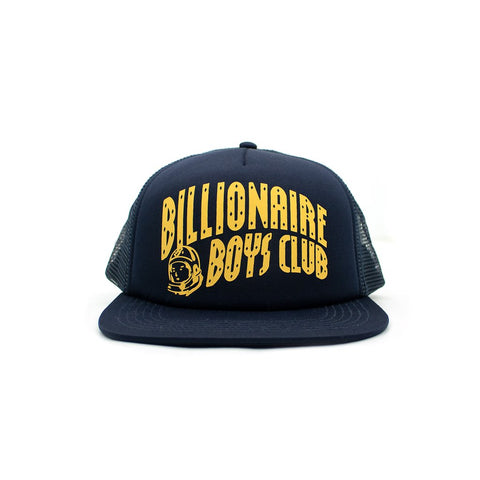 HELMET TRUCKER HAT - NAVY