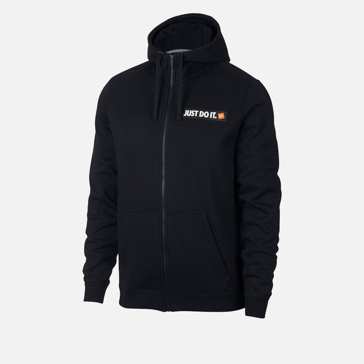 NSW JUST DO IT ZIP UP HOODIE - BLACK