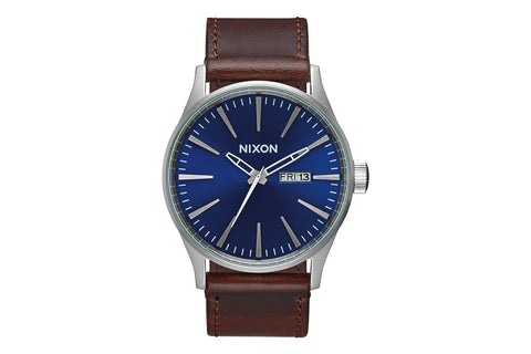 SENTRY LEATHER , 42 MM - BROWN
