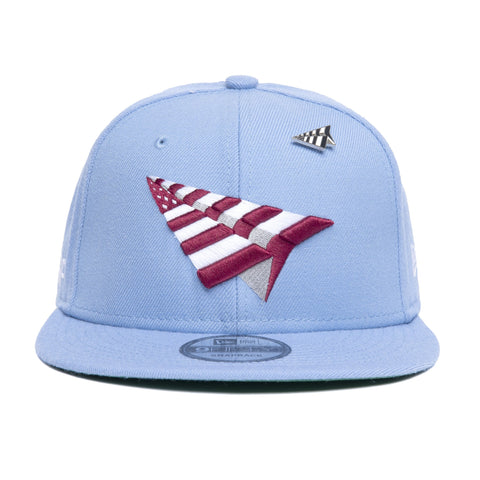 "JSP X PLANES ""15TH AND JFK"" SNAPBACK - BABY BLUE"