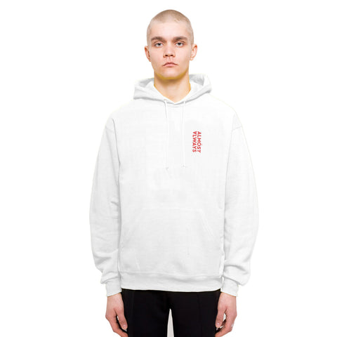 COLOR SPHERE HOODY - WHITE