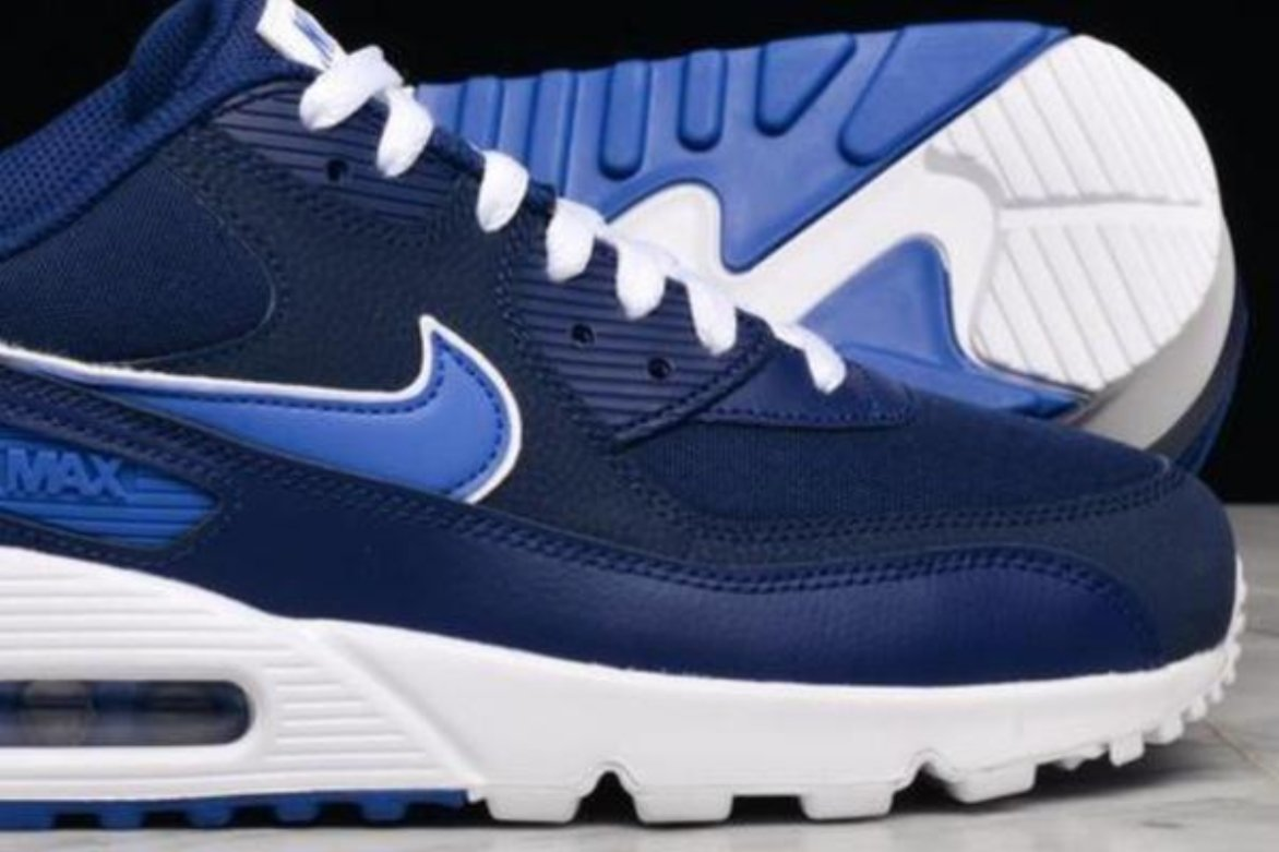 uk availability 83aa8 63f49 ... NIKE AIR MAX 90 ESSENTIAL- BLUE VOID