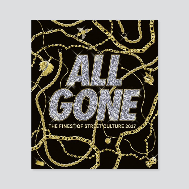 ALL GONE BOOK 2017 - BLACK