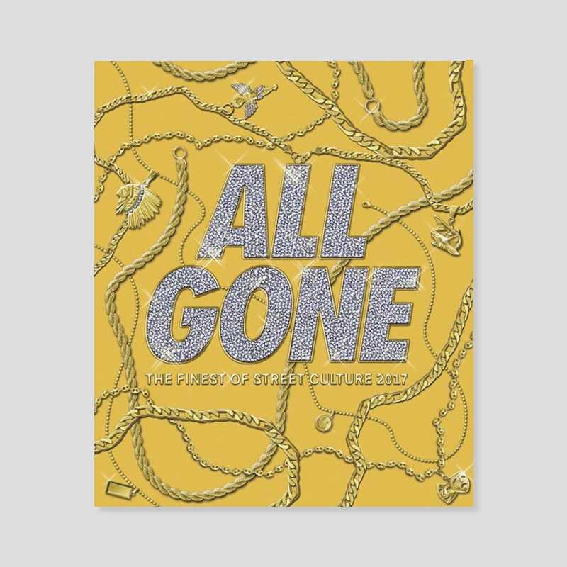 ALL GONE BOOK 2017 - GOLD