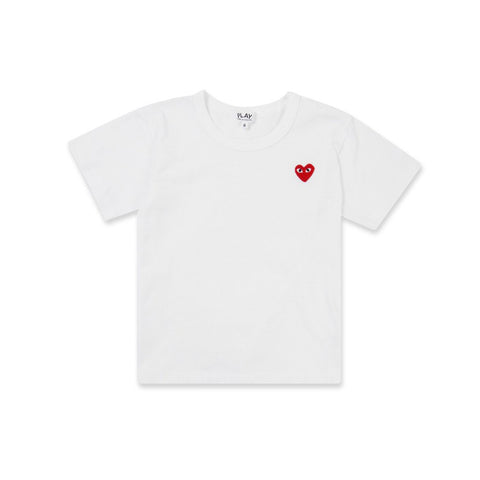 PLAY KIDS LOGO TEE - WHITE