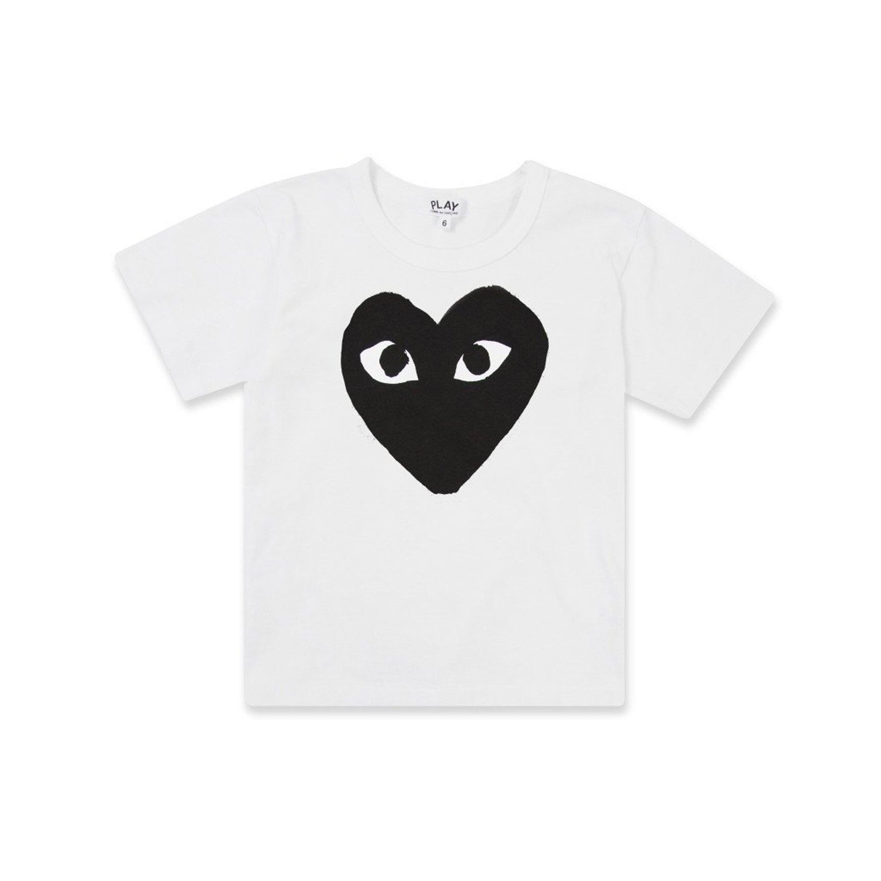 PLAY KIDS HEART TEE - WHITE