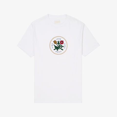 HOME CREST SS TEE - WHITE
