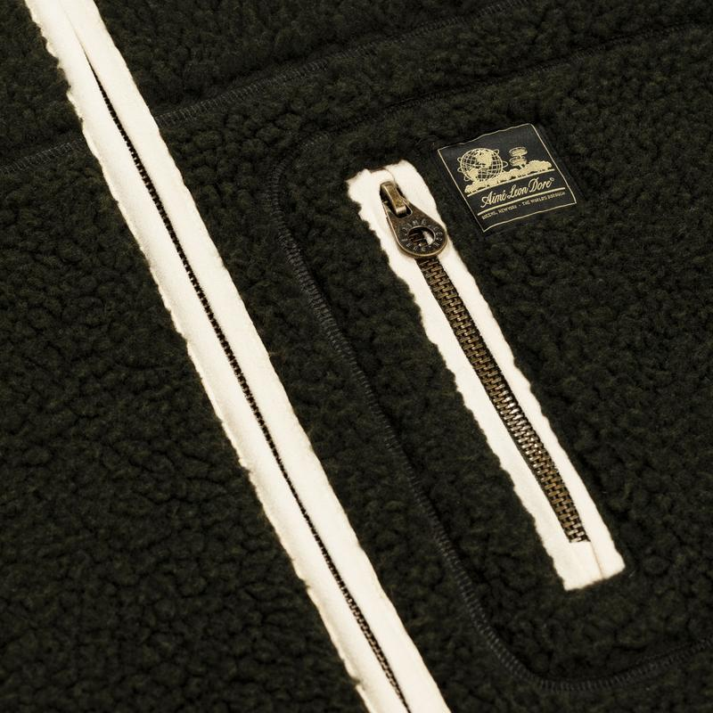 FLEECE JACKET - ROSIN
