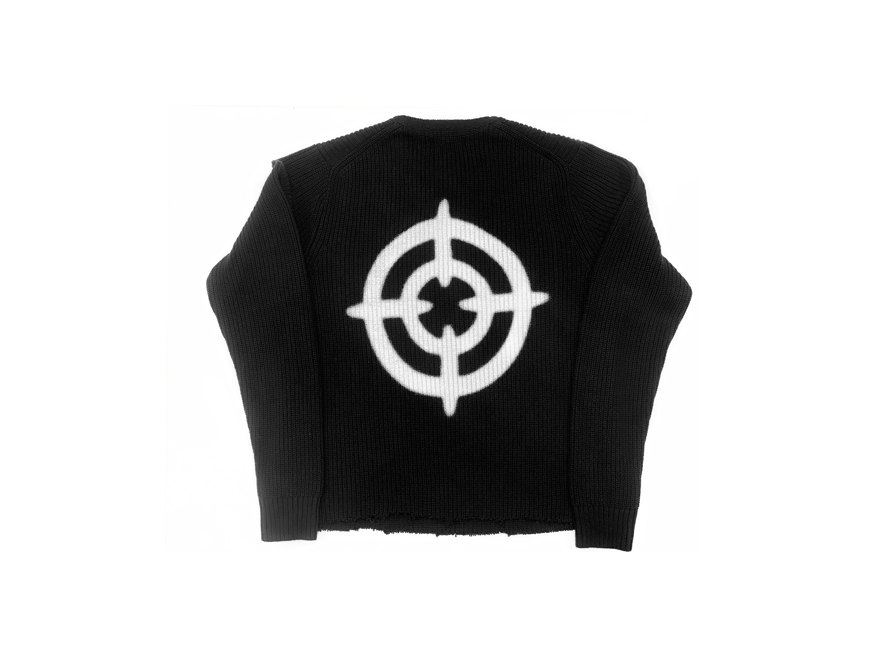 PROBLEM CHILD SWEATER - BLACK