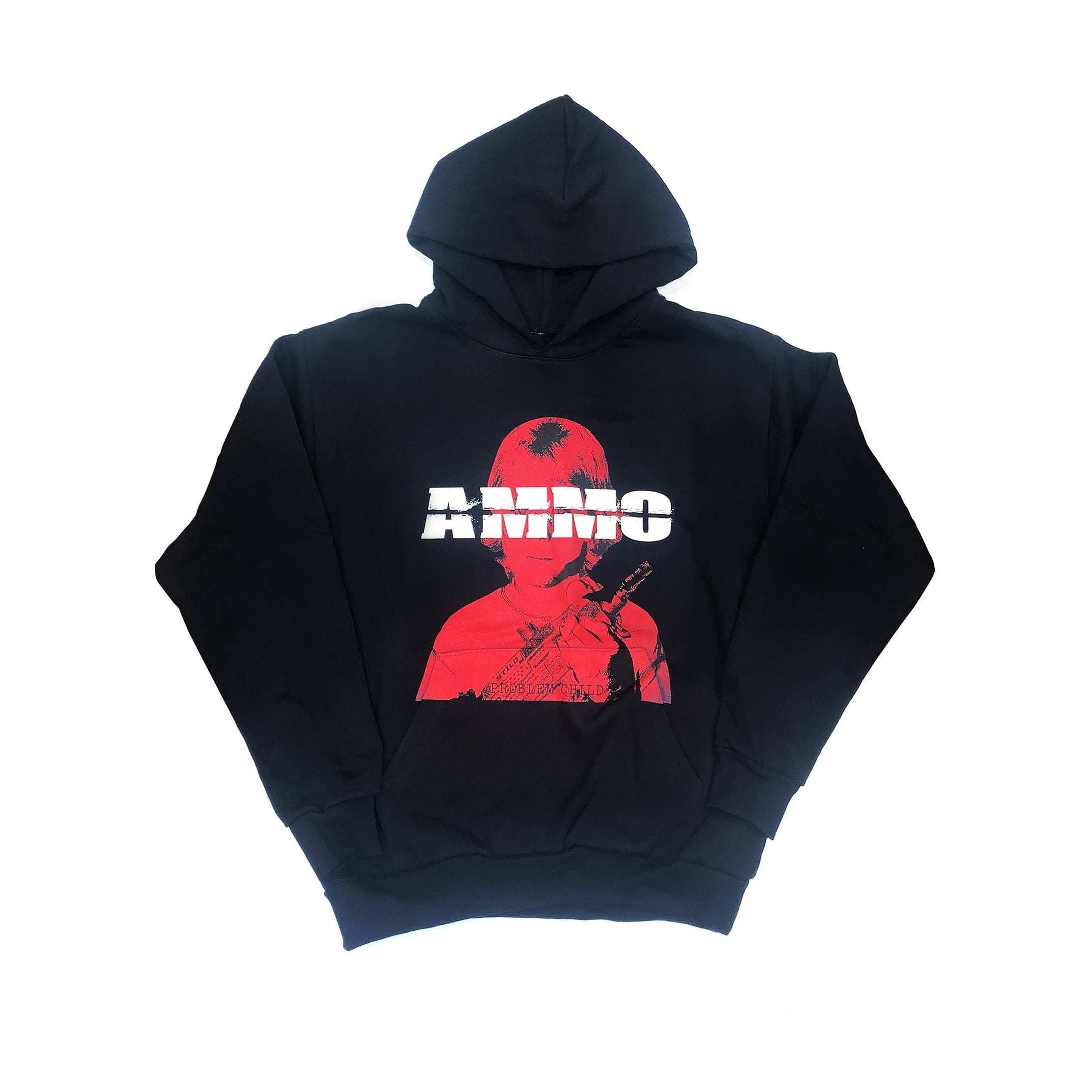 PROBLEM CHILD HOODIE - BLACK