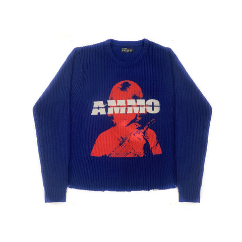 PROBLEM CHILD SWEATER - BLUE