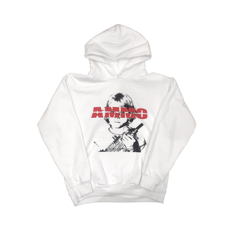 PROBLEM CHILD HOODIE - WHITE