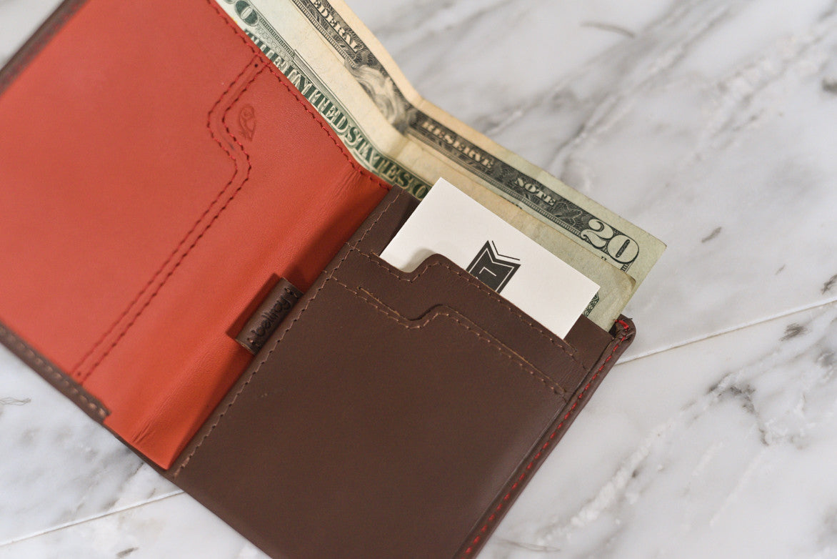 NOTE SLEEVE WALLET - COCOA