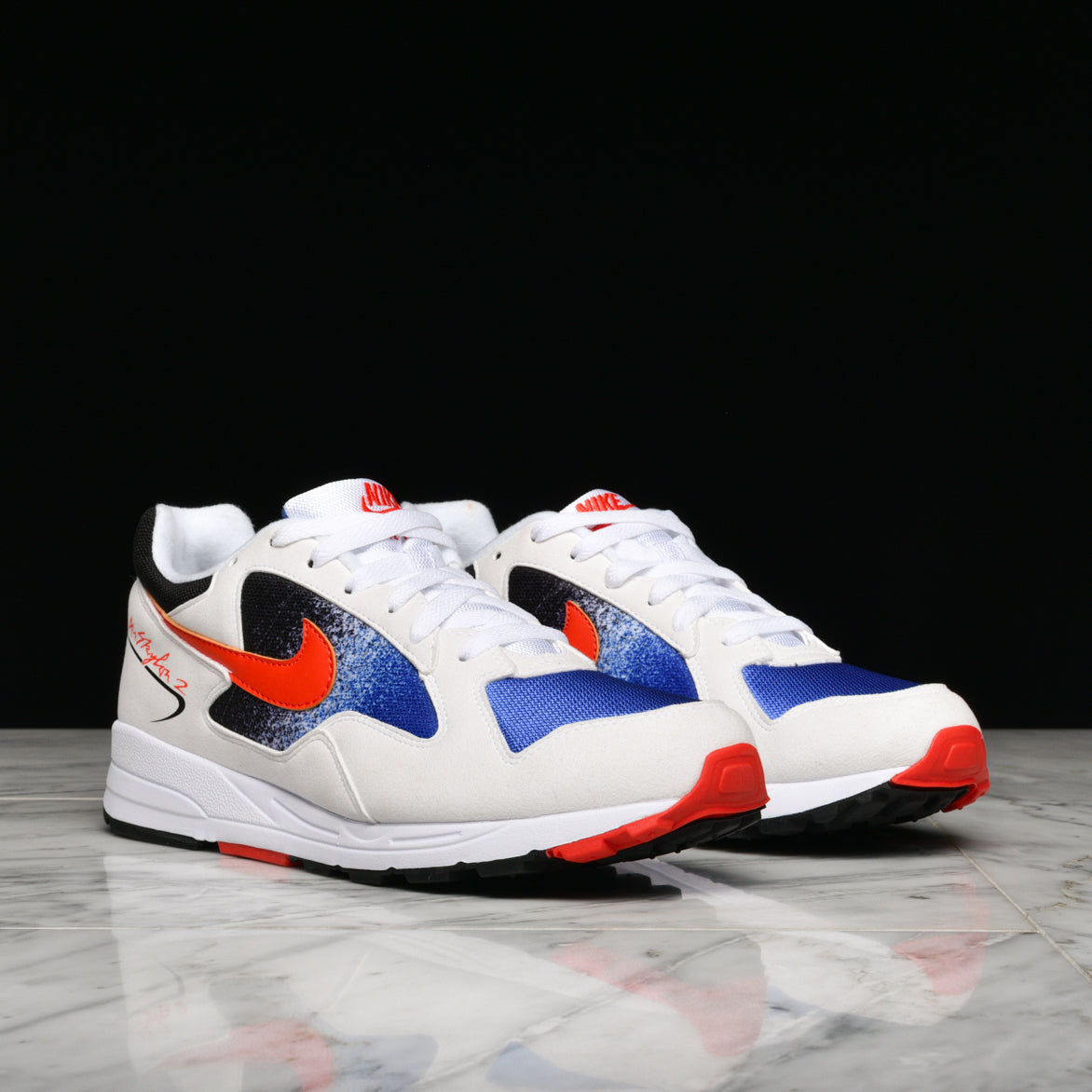 AIR SKYLON II - WHITE / TEAM ORANGE / HYPER ROYAL